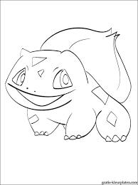 Pokémon Bulbasaur Om In Te Kleuren Gratis Kleurplaten