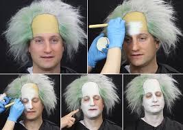 beetlejuice makeup tutorial step 1