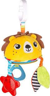 <b>Подвесная игрушка Benbat</b> On-the-<b>Go</b> Toys Лев, TT139, желтый ...