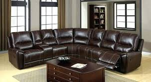 recliner with cup holder and storage. Fine Recliner Keystone Brown Bonded Leather Reclining Sectional With Cup Holders And  Storage Couch In Recliner Holder R