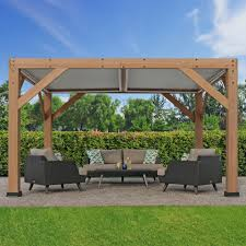 with aluminum louvered roof costco