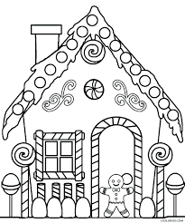 blank gingerbread house coloring pages. Modren House Extraordinary Gingerbread Man Coloring Page Outstanding Blank  On Blank Gingerbread House Coloring Pages O