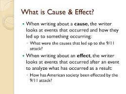 writing a cause or effect essay mrs wishart senior adjunct  what is cause effect