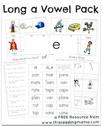 Here is a graphic preview for all the kindergarten, 1st grade, 2nd, grade, 3rd grade, 4th grade and 5th grade short and long vowel worksheets. Phonics Worksheets Archives Unite Long Optovr Com