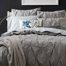 Incredible Organic Cotton Pintuck Duvet Cover Shams West Elm ... & Amazing Organic Washed Cotton Duvet Cover Shams West Elm For Organic Cotton Duvet  Cover ... Adamdwight.com