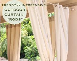 outdoor curtain rod pic