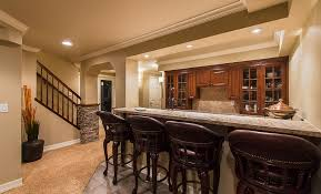 basement design ideas. easy finished basement design ideas in classic home interior with