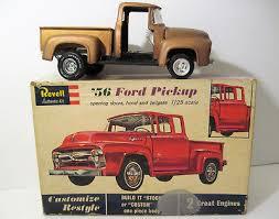 BUILT VTG 1962 REVELL 1956 '56 FORD PICKUP H-1283:198 JUNKYARD w Box ...