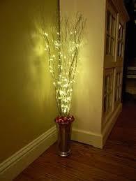 vase lighting ideas. Interesting Vase DIY Easy Christmas Decoration For Corners Vase Sticks Spray Paint  Ornaments And Lights Throughout Vase Lighting Ideas 5