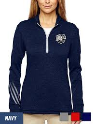 adidas quarter zip. adidas golf women\u0027s brushed terry heather quarter-zip jacket quarter zip