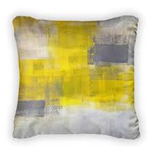 throw pillows with removable covers.  Pillows Gear New Grey And Yellow Abstract Painting Throw Pillow With Removable Cover  Poplin 20x20 Pillows Covers E