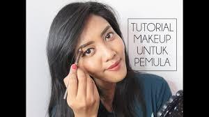 tutorial makeup untuk pemula belajar dandan