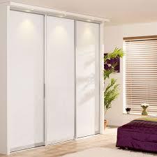 white sliding wardrobe doors monaco silver frame w pure white glass panels