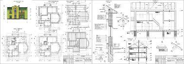 Курсові і дипломні проекти котеджі дачі скачати котедж в dwg  Курсовий проект Двоповерховий котедж 13 14 х 12 72 м в м