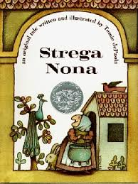 the strega nona series of books written by tomie depaola have indeed been challenged because of the storyline which is that of a loveable town witch