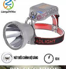 Hàng full box ] Đèn pin đội đầu siêu sáng chống nước pin cực khỏe 10000mAh  volume