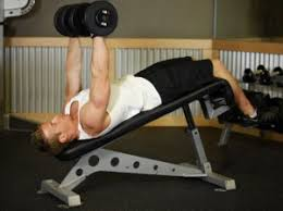 Barbell Bench Press  Chest MusclesDecline Barbell Bench