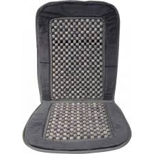 wood bead car seat cushion