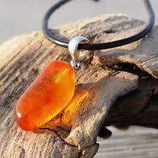 baltic amber pendant necklace for women