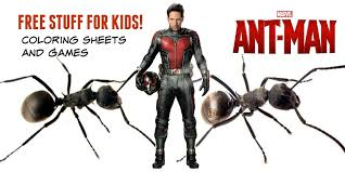 Small Picture Free Ant Man Games and Coloring Sheets from Marvel
