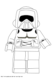 Lego Star Wars Coloring Pages Color Bros