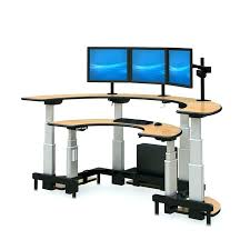 executive standing desk desk adjule stand up desk electric standing desk topper ergonomics workez executive standing