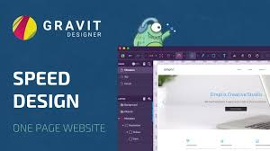 Is Gravit Designer Safe Speed Design In Gravit Designer One Page Website