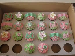 Mossys Masterpiece 60th Birthday Cupcakes Hayley Moss Flickr