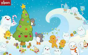 Desktop Christmas Wallpaper Kawaii