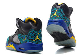 jordan shoes for girls black and blue. air jordan v(5) \u201cleopard\u201d black blue yellow for sale,jordan shoes girls and
