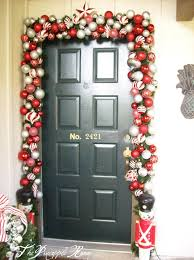 Front Door Decorating Pictures Of Front Door Christmas Decorations Decor