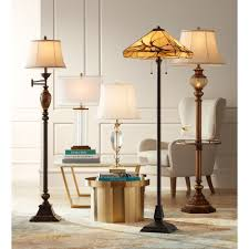 interior breakthrough kathy ireland floor lamps lamp with night light and glass tray com