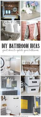 12 great bathroom diy projects great updates for our bathroom that you can do from