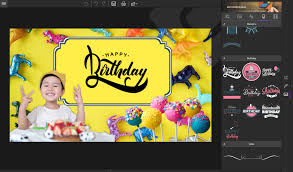 photomone add stickers and text templates and import your photos