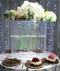 centerpieces for weddings hot hanging crystal wedding flower stand centerpieces wedding centerpiece and flower stand
