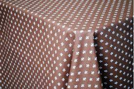 chocolate coated cotton tabcloth provence tablecloths tablecloth round fur