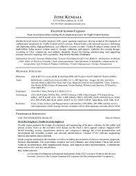 Rf Systems Engineer Sample Resume Mesmerizing Electrical Engineering Student Sample Resume Engineering Program