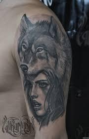 волк с волчатами татуировка на плече 10 тыс изображений найдено в