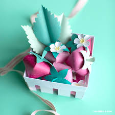 3d Paper Strawberries Lia Griffith
