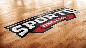 Logo Mock Up Basketball Court Photoshop Logo Mockup Sports Templates