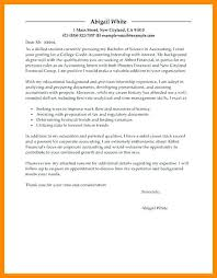 Cover Letter Examples For College Students Internship Cover Letter