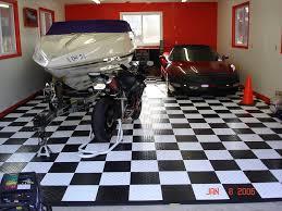 garage floor tiles color