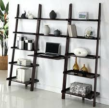 black ladder shelf ladder desk design ideas with shelves black ladder shelf with drawers