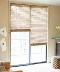sliding glass door window treatments