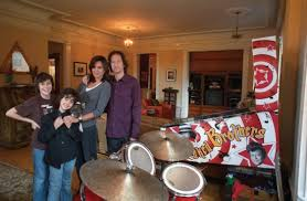 michael wolff polly dr and their two sons image 0