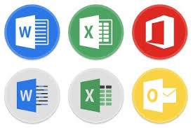 Button Ui Ms Office 2016 Iconset 15 Icons Blackvariant
