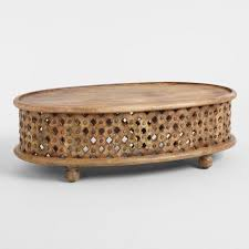 carved wood coffee table designs inspiration oval tribal world market 650 650