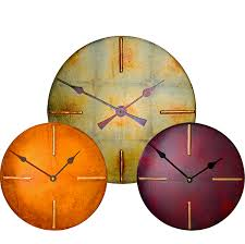 Small Picture large round wall clocks round contemporary wall clock UK round