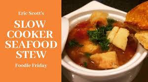 Slow Cooker Seafood Stew Recipe ...