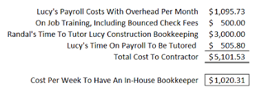 The Nine Steps To Construction Bookkeeping And Accounting